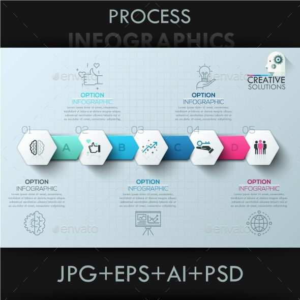 Modern Infographic Polygon Timeline Template PSD, Vector EPS, AI Illustrator. Download here: https://graphicriver.net/item/modern-infographic-polygon-timeline/17318776?ref=ksioks