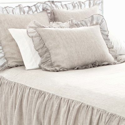 Pine Cone Hill Chambray Savannah Linen Bedspread & Reviews | Wayfair.ca