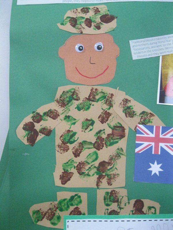 Soldier Memorial Day Crafts for Kids