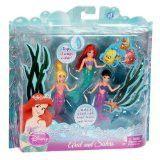 Disney Princess Ariel And Sisters Doll Set