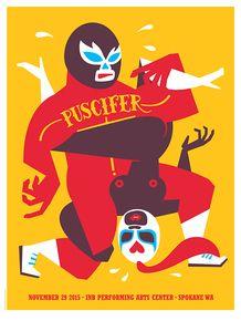 PUSCIFER - TOOL - 2015 - INB ARTS CENTER - SPOKANE - DAN STILES - MONEY SHOT