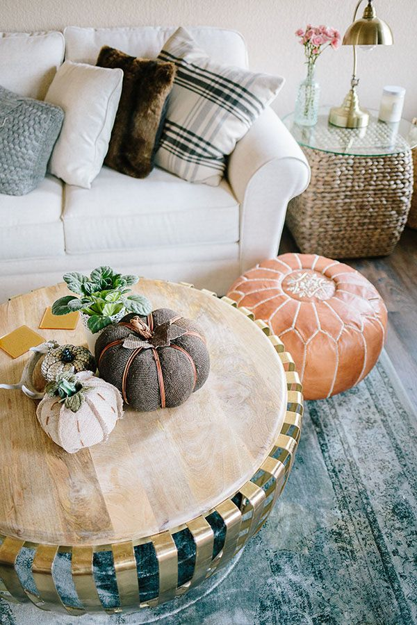 Throw Pillows Garnet Hill : Today KatalinaGirl.com is teaming up with @Gordmans to share how I decorate for fall on a budget ...