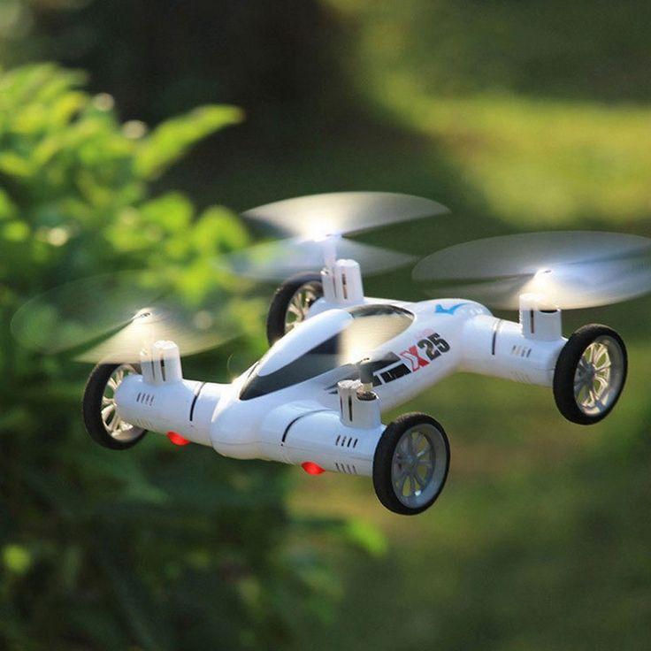 Mini Drone RC Quadcopter Land / Sky