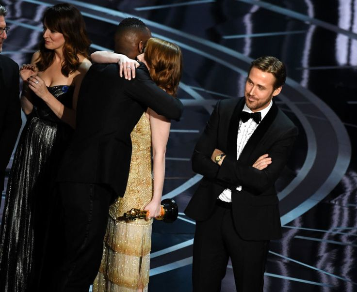 """""""This is not a joke,"""" <i>La La Land</i> producer Jordan Horowitz said on the Oscars stage while announcing <i>Moonlight</i> as the actual winner."""