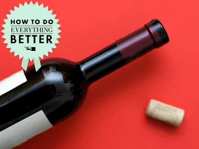 wine open How To Do Everything Better: Open Wine Without a Corkscrew