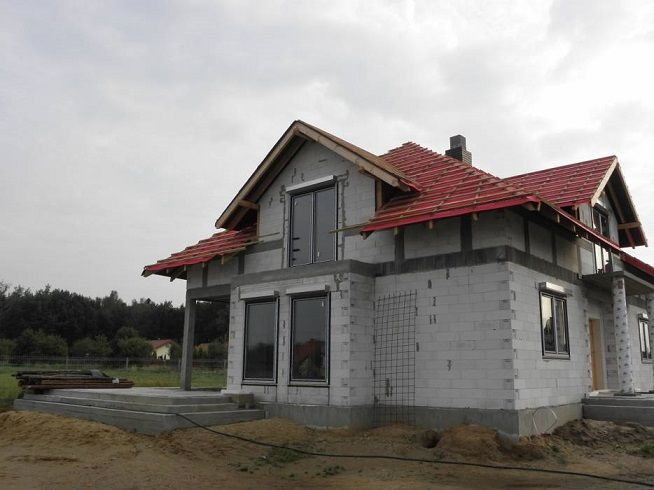Widok domu Benedykt 3 #projekt #dom #budowa