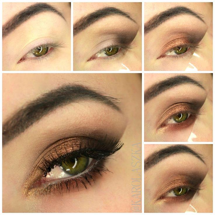 Brown smokey eye step by step | ZOEVA COCOA BLEND – BEAUTY TESTER