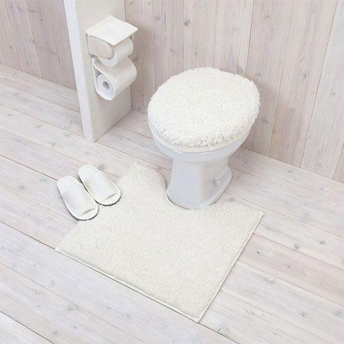 思わず長居…くつろぎのトイレ | LIFESTYLE ESSENCE | 家具インテリア ... シンプルなトイレまるごとセット/アイボリー