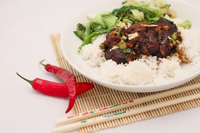 Nutmegs, seven: Sticky Asian-spiced pig cheeks