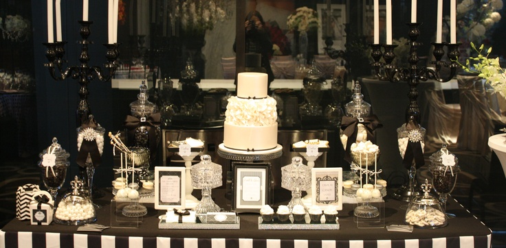 Doltone House Bridal Expo- Cake & candy table by Mon Tresor & Couture Cupcakes & Cookies
