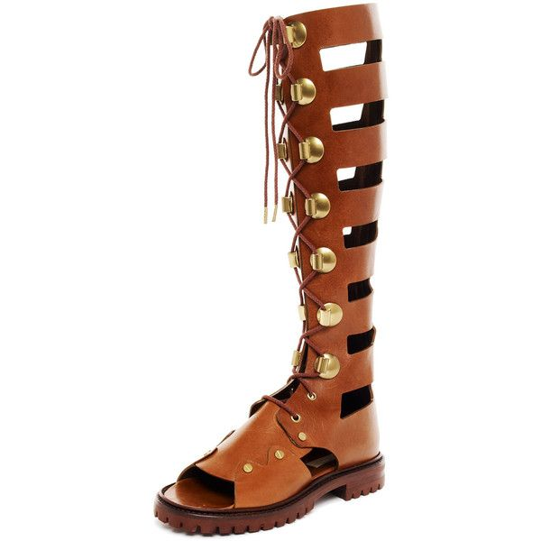 Michael Kors Tall Lace-Up Gladiator Boot