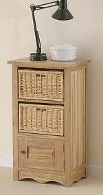 Cairo Solid Oak Bookcase / Storage Unit