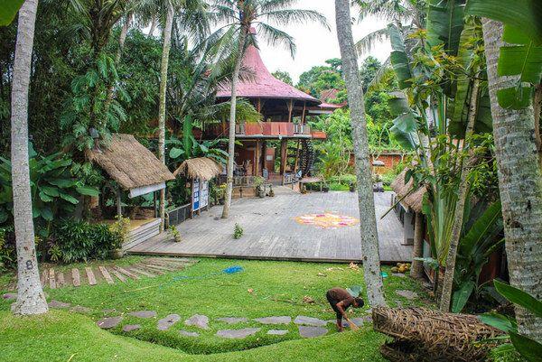 Ubud, Bali. Yoga and accomodation tips http://ashleyabroad.com/2014/02/13/budget-yoga-retreat-bali/