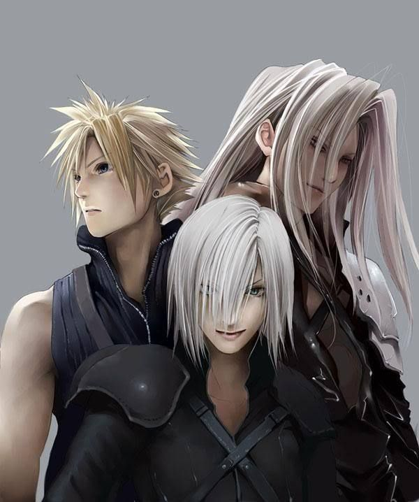 Final Fantasy Cloud Strife Wallpaper: Cloud, Sephiroth, And Kadaj