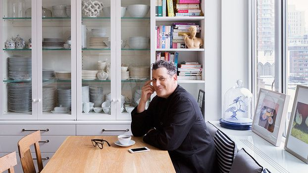 Isaac Mizrahi is beloved equally for his flamboyant clothing and even more flamboyant personality, so it comes as no surprise that his home in N.Y.C.'s Greenwich Village, which he shares with his husband, Arnold Germer, and their two aging mutts, is infused with the designer's trademark flair.