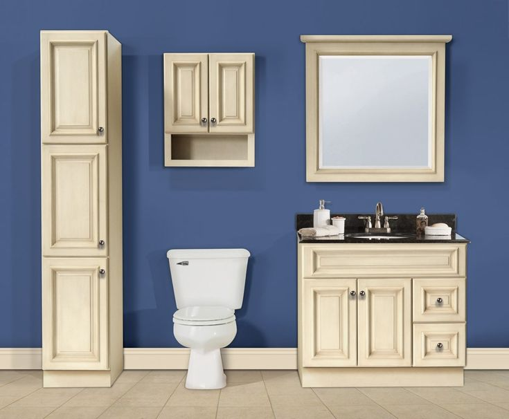 17 best images about antique white linen cabinet on pinterest traditional bathroom wooden - Antique bathroom linen cabinets ideas ...