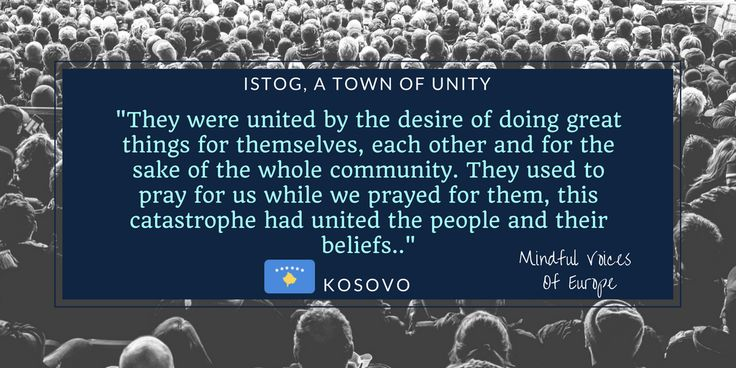Kosovo: Istog, a Town of Unity - Mindful Voices of Europe The kosovan short story of our book. Learn more on www.mivoceu.eu