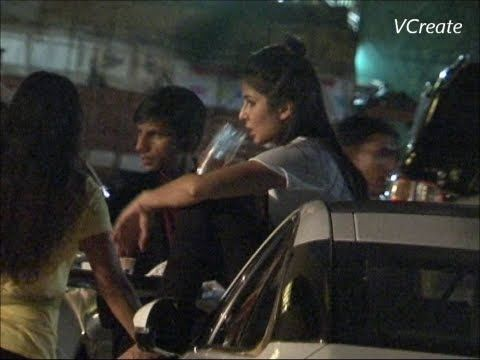 Katrina Kaif seen chilling and boozing roadside - LEAKED VIDEO.