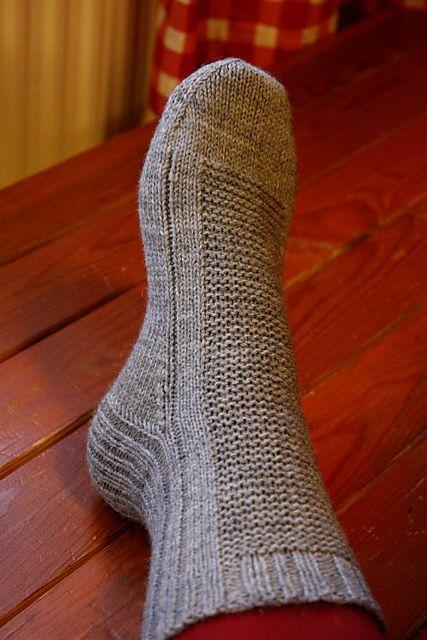 Ravelry: AnniKainen's Some kind of Rye women's knitted socks naisen villasukat
