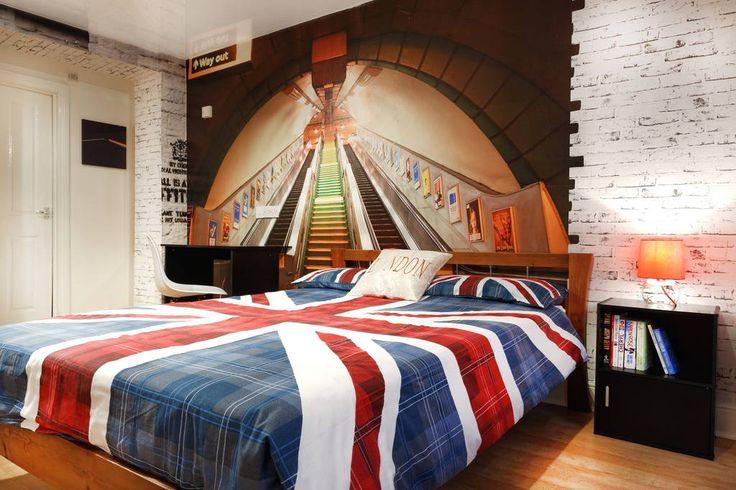 Airbnb'deki bu harika kayda göz atın: Cool Large Studio in Central London - Londra şehrinde Kiralık Apartman daireleri
