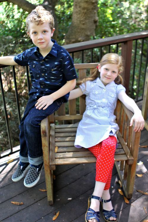 What to Wear to 2nd & 3rd Grade   |   Design Mom: Kids Style, Faces Tees, Kids Fashion, Check Shorts, Design Mom, Little Style, Kids Clothing, Buffalo Check, 3Rd Grade