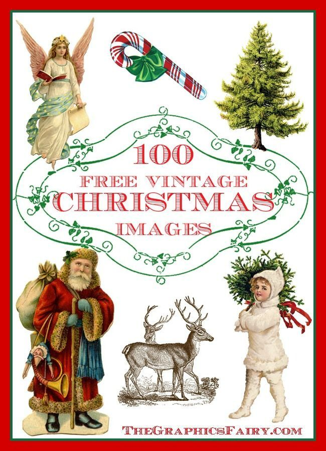 100 Best Free Christmas Images!!! Perfect for all your Holiday projects!