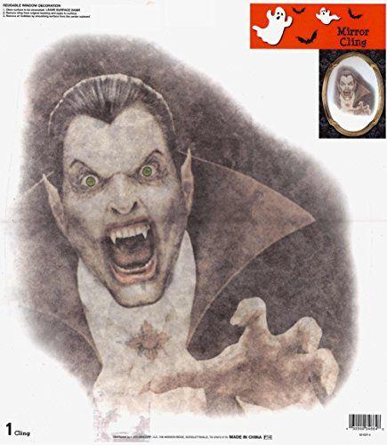Large Vampire Halloween Window Cling @ niftywarehouse.com #NiftyWarehouse #Dracula #Vampires #ClassicHorrorMovies #Horror #Movies #Halloween #Vampire