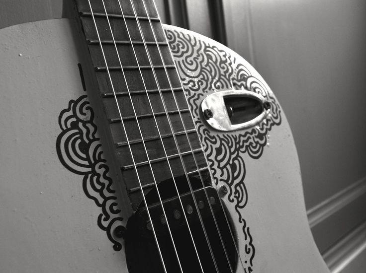 (détails) #guitar #custom