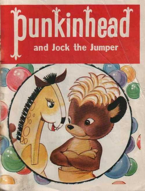 Punkinhead - Santa's helper. Children's Christmas books from the Eaton's store, 1950's