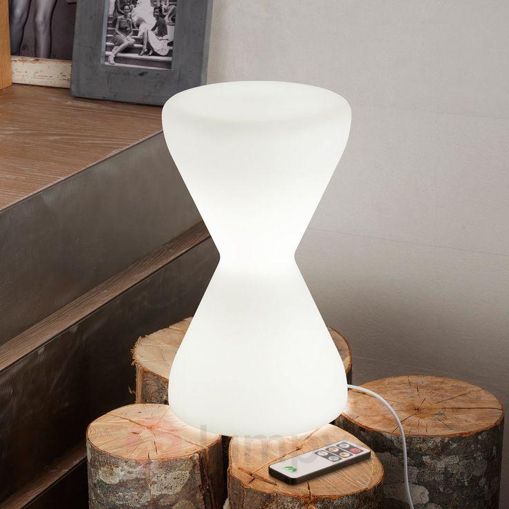 Lampa stołowa LED CLESSIDRA w kształcie klepsydry 6042253