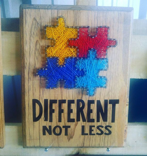 Autism+awareness+string+art+by+STRINGheARTbyNicole+on+Etsy
