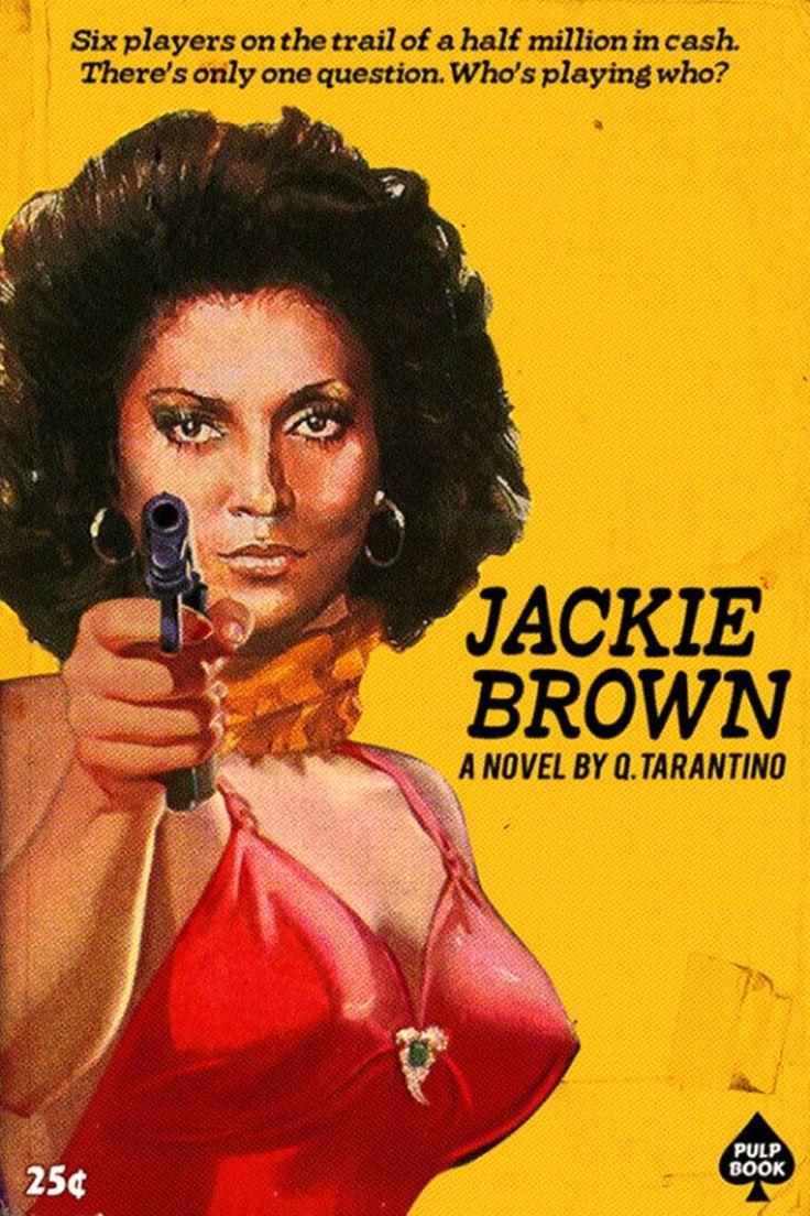 Películas de Tarantino convertidas en portadas de libros