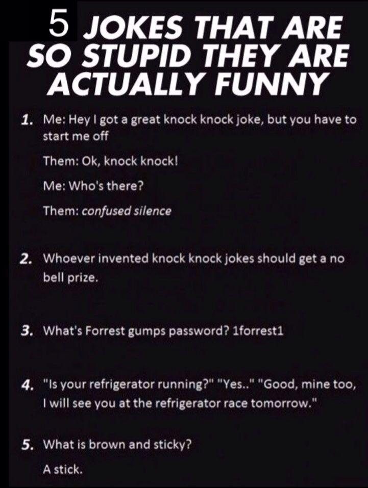 Top 22 Hilarious Stupid Jokes Stupid Jokes Short Jokes Funny