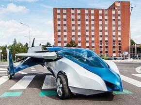 飞行汽车可连续飞行700公里 - 手机新浪网