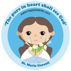 Happy Saints. A blog with Catholic activities and graphics