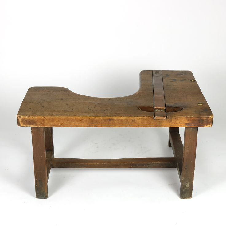 Vintage Indudstrial. French Shoe Cobbler's Bench.  A charming French walnut cobbler's bench circa 1890 with copper and brass detail http://www.gardencourtantiques.com/shop/french-walnut-cobblers-bench/ #primitive #rustic #industrial #industrialdesign #industrialdecor #vintagebench #homedecor #cobblersbench #sf #sanFrancisco #interiorstyling #interiordesigns #style #designgoals #interiors #interiordesignideas #vintage #antiques #interiordecorating