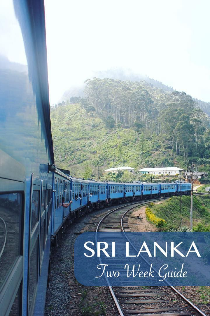Guide for traveling around Sri Lanka in 2 Weeks.