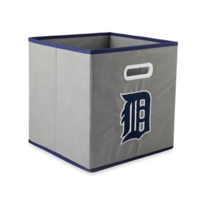 Perfect for Baby Chickpea's room! MLB Detroit Tigers Fabric Storage Drawer - buybuyBaby.com