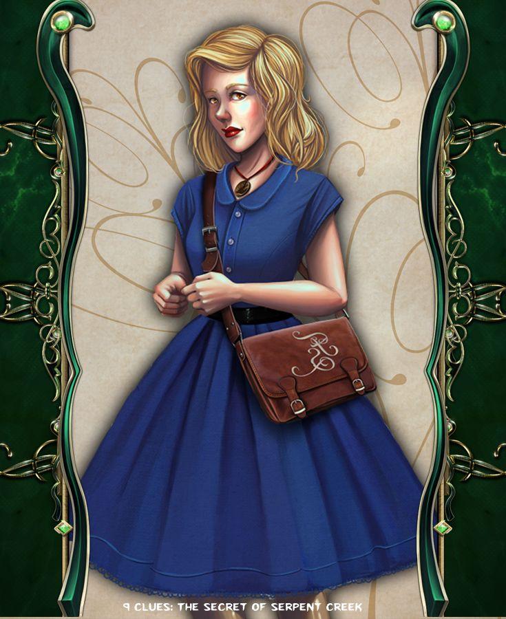 Helen Hunter #artifexmundi #tapitgames #9clues #adventure #game http://www.artifexmundi.com/page/9clues/