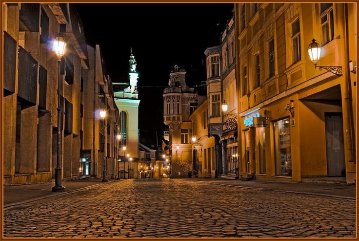 City. Vilnius... I miss this place