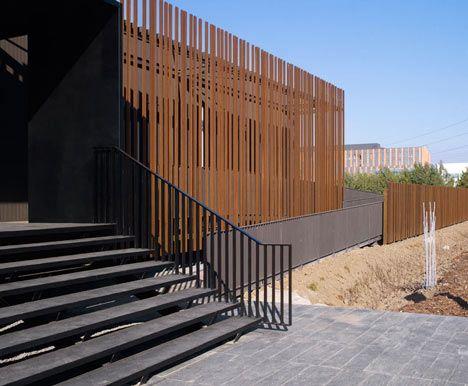 100 best corten steel images on pinterest for Delmas architecte
