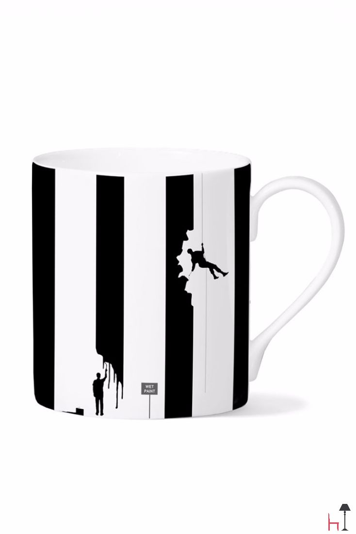 The Painting mug by Eleanor Stuart is a collectible of sort. It will add a touch of extra joy to your tea or coffee break.