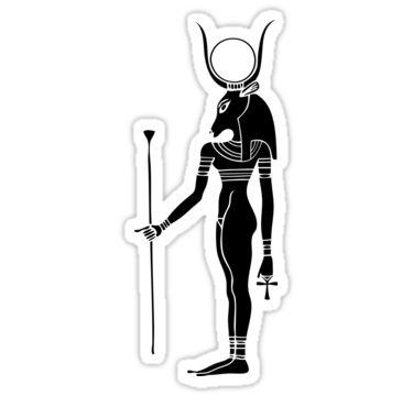 """Hathor – diosa egipcia del amor, el amor, la belleza, el baile, la música y la fertilidad. Ella era una diosa vaca y se asoció con la Vía Láctea. Hathor era la hija de Ra. Hathor significa """"casa de Horus"""". Antes de Hathor era la diosa bonita que era la diosa de la destrucción. Hubo un mito que Ra ordenó Hathor (Sekmet) para ir a comer a la gente. Sin embargo, días pasaron y Ra querían Sekmet (Hathor) para detener pero Sekmet estaba disfrutando. Así Ra teñido cervez..."""