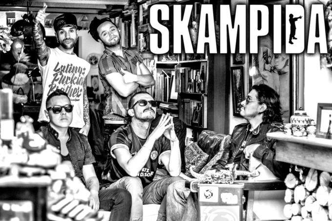 """Con """"Como atravesar"""", Skampida presenta su cuarto álbum"""