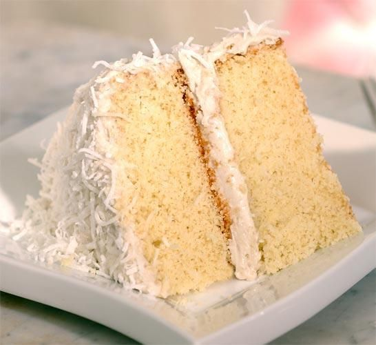 Coconut Cake, gluten free by Pamela's products. You won't believe these (or any of the things you make from her products) are gluten free!