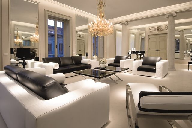 versace living room design the residences makati interior design by versace 13987