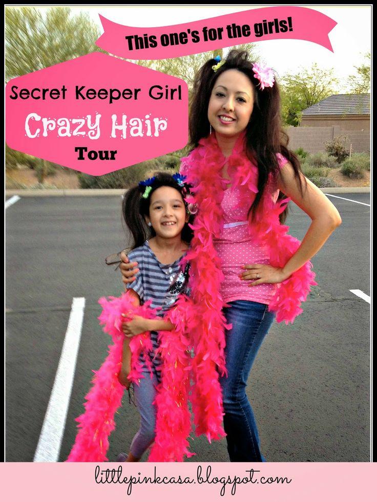 This weekend we got a little CRAZY! Read A Mom's REAL opinion of Secret Keeper Girl Hair Tour-Arizona  http://littlepinkcasa.blogspot.com/2014/03/this-ones-for-girls-secret-keeper-girl.html #skgtour