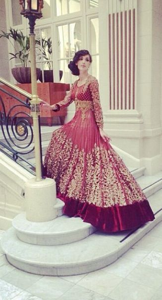 Imagine... In gota! red designer anarkali with gold embroidery. #Anarkali #DesignerAnarkali #RedAnarkali #BridalAnarkali