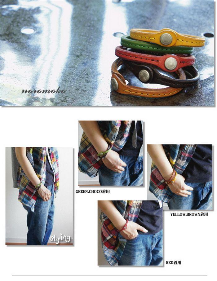 ペアブレスレット革 ブレスレット メンズ 人気 レザー レザーブレスレット レディース http://www.noromoko.com/pw008