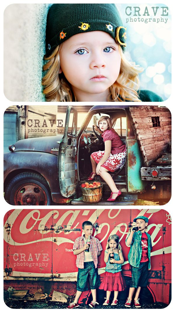 Crave photography (Andee Tate I Crave Photography)  mix of modern & vintage with colors and soft textures